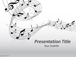 Music Powerpoint Template Free Musical Powerpoint Template Download Free Powerpoint Ppt