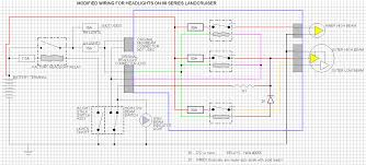 wiring diagram to install led headlight upgrade 60 or 80 series wiring diagram to install headlight upgrade 60 or 80 series gif