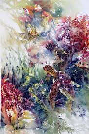 artcentralslo files wordpress com 2016 10 turtle wc jpg gallery watercolor paintings and watercolor projects