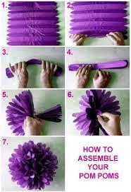 Crepe Paper Flower Balls How To Assemble Your Tissue Pom Pom Balls Tissue Paper