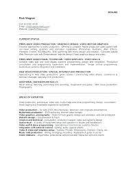 Video Production Resume Samples Freelance Video Editor Resume Video Resume Example Video Game