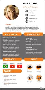 5 free diy infographic resume sites the muse accenture builder