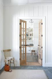 home office doors. White Home Office With Glass Paned Sliding Doors On Rails Attractive Door E