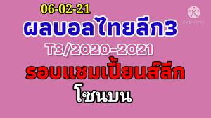 ผลบอลไทยลีก3 รอบแชมเปี้ยนส์ลีก โซนบน 06-02-64//อุดรยูไนเต็ดมาแรง - YouTube