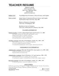 Sample Resume For Teachers Unique How To Write A Resume For A Teaching Job Resume For Teaching Jobs
