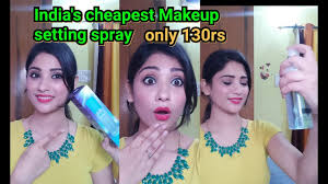 india s est makeup setting spray ads makeup fixer 130 rs only shy styles