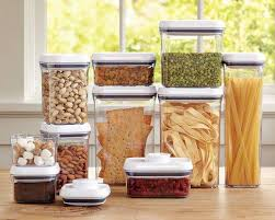 kitchen counter with food. OXO Pop Containers @ Williams-Sonoma Kitchen Counter With Food H