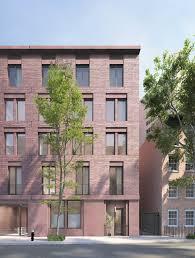 city apartment building entrance. jane street apartment building . new york city (4) entrance