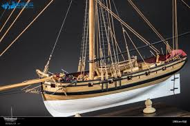 h m s cutter lady nelson scale 1 64 20 8 wood ship model kit wood sailboat