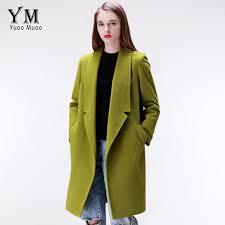 yuoomuoo brand design winter coat women warm cotton padded wool coat long women s cashmere coat european fashion jacket outwear