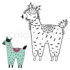 In order for you to continue playing this game, you'll need to click accept. Dot To Dot Game With Funny Llama For Stock Vector Colourbox