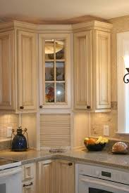 nice corner wall cabinet with glass doors kitchen intended for door idea 18