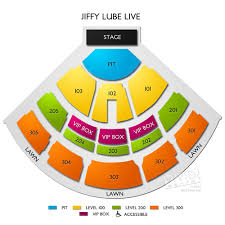 Jiffy Lube Live Bristow Va 3d Seating Chart Jiffy Lube Live Concert Tickets And Seating View Vivid Seats