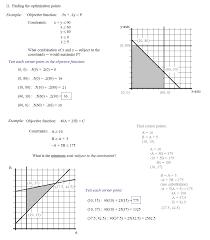 algebra linear programming lesson 1 algebra linear programming lesson 2