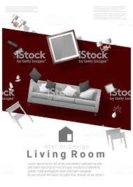 Furniture sale banner Bank Holiday Vertical Interior Banner Sale With Living Room Furniture Hovering On Colorful Background Vector Illustration Gograph Vertical Interior Banner Sale With Living Room Furniture Hovering On