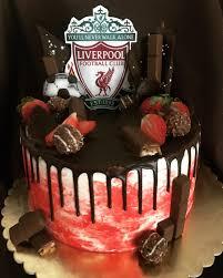 Liverpool Cake Dripcake Liverpoolfc Art In 2019 Cake