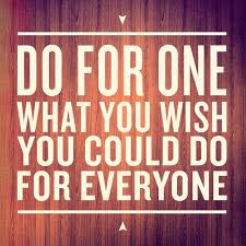 Do for one what you wish you could do for everyone by Andy Stanley ...
