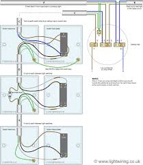 Installing 4 Way Light Switch Three Way Light Switching Wiring Diagram New Cable Colours