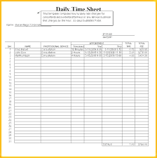 Weekly Time Record Daily Time Record Template Work Log Sheet Form For Ojt