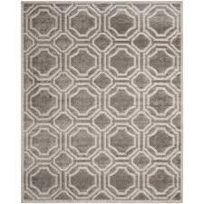 amherst gray light gray 10 ft x 14 ft indoor outdoor area rug