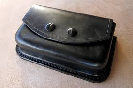 edc leather belt pouch