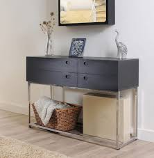 modern console tables with drawers and table nice drawer for