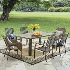 gardens camrose farmhouse chair brown