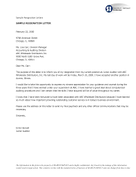 resignation letter example family relocating letter samples resignation letter sample standard resignation letter template and