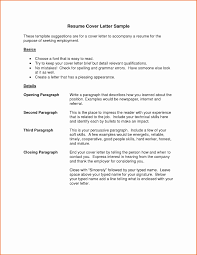 Cover Letter In Resume 100 Cover Letter Outline Examples Cover Letter Outline Template 100 35