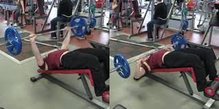 Decline Bench Press Video Exercise Guide U0026 TipsDecline Barbell Bench