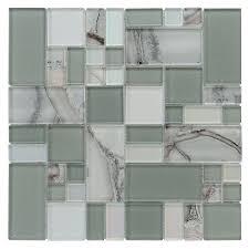 elida glass tile stunning allen roth volcanic laser cubes mosaic glass wall tile