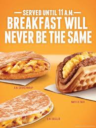 taco bell breakfast menu 2013. Plain Menu Taco Bell Breakfast Wins Social Media With Menu 2013 T