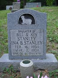 Ina B. Stanley (1934-1934) - Find A Grave Memorial
