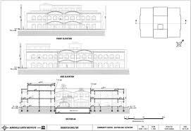 Community Centre Design In India Multi Hazard Resistant Shelter