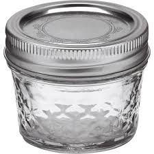Amazon.com: Ball Mason 4oz Quilted Jelly Jars with Lids and Bands, Set of  12: Food Savers: Kitchen & Dining