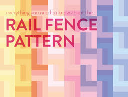 Everything You Need To Know About The Rail Fence Quilt Pattern ... & Everything You Need To Know About The Rail Fence Quilt Pattern - Suzy Quilts Adamdwight.com