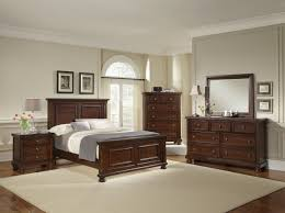 Mansion Bedroom Furniture American Reflections Mansion Bedroom Set In Dark Cherry