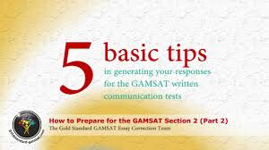 gamsat preparation for section gold standard essay writing  gamsat preparation for section 2 gold standard essay writing part 2