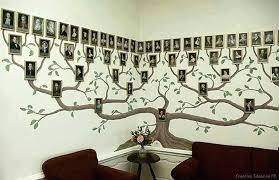 wall tree view in gallery family tree wall art tree bookshelf wall stickers