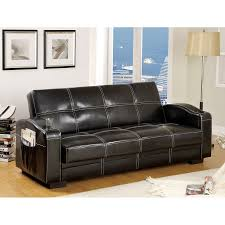 Living Room With Brown Leather Sofas Shop Futons Sofa Beds At Lowescom