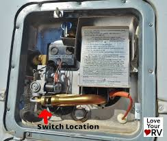 faulty electrical switch on a suburban sw6de hot water heater bad water heater switch