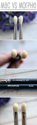 best eyeshadow brushes morphe. a tale of two brushes: morphe m433 vs mac 217 best eyeshadow brushes