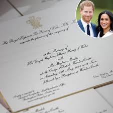 Meghan markle are hugely grateful for the many good wishes they have received since announcing their engagement. See Prince Harry And Meghan Markle S Wedding Invitations E Online