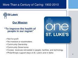 St Lukes Health System Boise Idaho