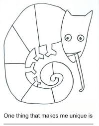 The Mixed Up Chameleon Coloring Page Coloring Book