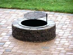 above building an inground fire pit your own how to build