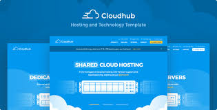 tamplate cloudhub hosting and technology html template by serifly themeforest