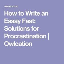 how to write an essay prompt solutions for procrastination  write topic sentences
