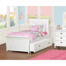 girls twin bed with trundle. Unique Twin Kids Twin Bed Trundle Costco Cafekid Alexia Sleigh Kid S Room 4 Inside  Girls Throughout With E