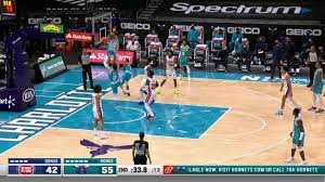 Malik Monk with an and one vs the ...